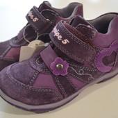 Качественные ботинки Baren schue (Германия) для девочек - натуральная кожа (распаровка)
