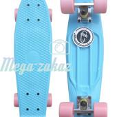 Скейтборд/скейт Penny Board (Пенни борд) Fish: Sky, до 80кг