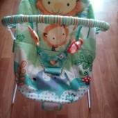 Шезлонг для малыша Bright Starts Веселый зоопарк