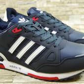 Adidas ZX 750 Navy мужские кроссовки Адидас синие