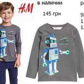 фирменный реглан на мальчика  H&M