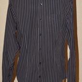 Рубашка классическая в полоску. Размер М