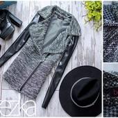 Курточка с баской и без. В расцветках. размер: S и М (8