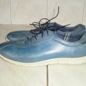 Ecco (дл.ст. 26,5 см р.41) кожаные туфли