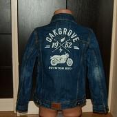 Palomino (7 лет) стильный джинсовый жакет, джинсовка для ребенка