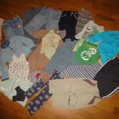 Пакет вещей 86-92 рост 2-3 года на мальчика кофта, джинсы, штаны, водолазка, гольф, боди, костюм