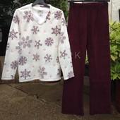 Женская флисовая пижама ( S) Primark