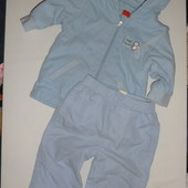 куртка демисезонная на 6-9 мес( штаны в подарок)