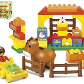 """Конст. """"Ферма"""", аналог Лего Дупло"""