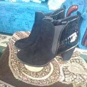 Красивые демисезонные ботинки,37 р