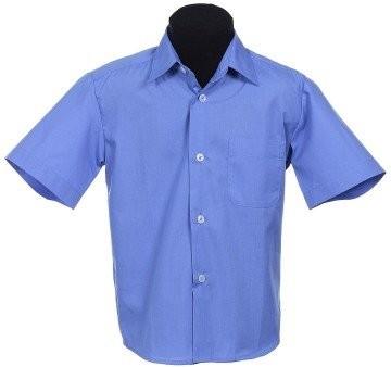 Рубашка школьная, 110, 116, 122, 128, 134, 140 фото №1
