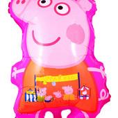 Надувной шарик Свинка Пеппа 58 см.