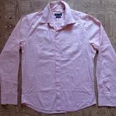 Розовая рубашка 44-46