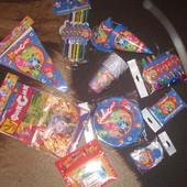 Шикарный набор аксессуаров к детскому празднику.Фиксики.11 наименований