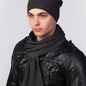 Комплект шапка-колпак и шарф и для мужчин Damir UniX - 4 цвета