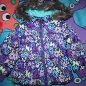 Демисезонная курточка из Америки в бабочки