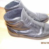 (№і88)кожаные зимние ботинки 42 р
