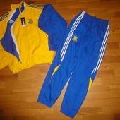 Новый спортивный костюм под Adidas 2XL Україна желто-голубой адидас, Украина, спортивний, мужской