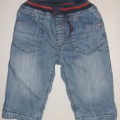 джинсы на флисе на 6-12 мес
