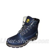 Женские ботинки Timberland синие