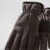 Теплющие мужские перчатки от тсм Tchibo размер 8,5