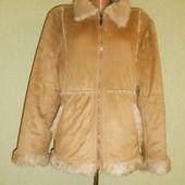 Демисезонная Куртка-Дубленка   yunjei (46 р.)