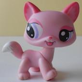Кошечка Littlest pet shop, Hasbro, оригинал, б/у