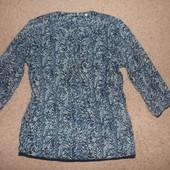 L-ка блуза из плотного шифона