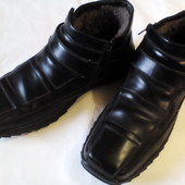 Бронь! Ботинки зимние на цигейке Кожа