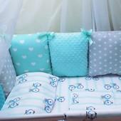 Комплект нового детского постельного белья