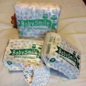 Памперсы подгузники Baby Smaile из Евопы, понравились больше дада dada