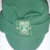 кепка-шапка тёплая двойная вязка на 4-6 лет