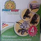 Сетка на коляску кроватку от насекомых Sunny Baby