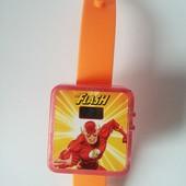 Детские часы the Flash супер герой