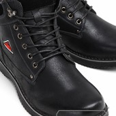 Модель № :W3376 Ботинки мужские на искусственном меху. Только 40р Цену снижено!!!