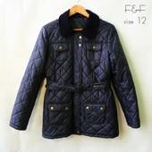 стеганная куртка от F&F size 12/ идеальное состояние