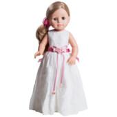 Кукла Эмма в белом платье Paola Reina (06040) 40 см Паола Рейна