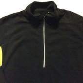 Новая!Мужская  флисовая кофта от ТСМ , размер хл/ххл, цвет - черный