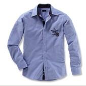 Качественная мужская рубашка  от ТСм , размер Л-ХЛ , ворот 42-43