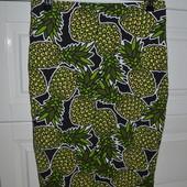Юбка Міді в ананаси