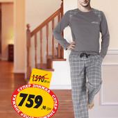 Хлопковая мужская пижама