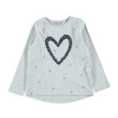 16-149LCW 7-8 лет (рост 122-128) Детская кофточка Лонгслив кофта для девочки футболка реглан рубашка