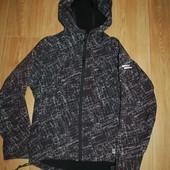 Ветровка 11-12 лет на флизе icewear