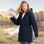 Куртка-Парка с мехом от Tchibo Германия укр.52
