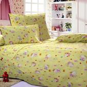 Детский постельный комплект из бязи в кроватку, к. Е