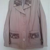 Курточка-плащ 52 размер