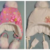 Детская шапочка для малышек