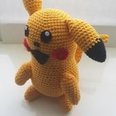 Вязанные игрушки ручной работы Pokemon Go Беймакс Покебол зайчик пингвин от 35грн