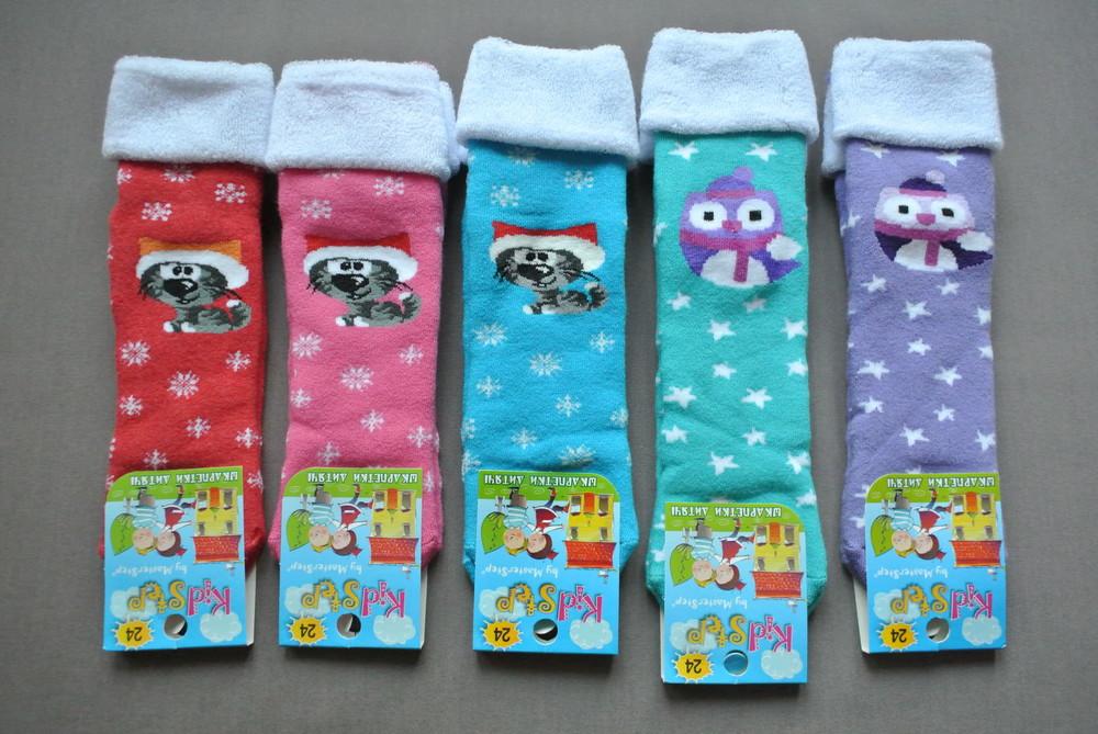 Скидка -10%. женские теплые, махровые носки с отворотом сова,кот. фото №1