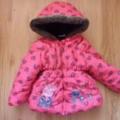 Курточка Peppa Pig, на 2 года.